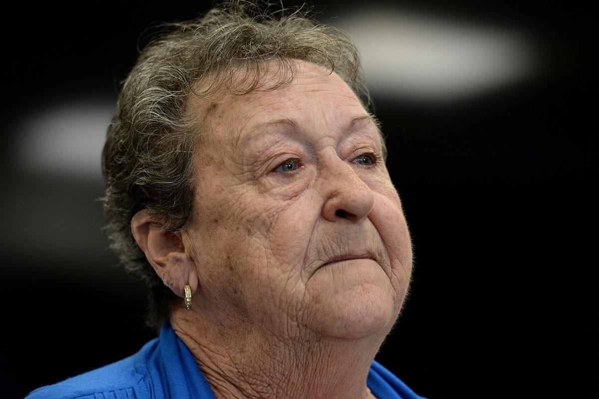Yvonne d'Arcy, une survivante du cancer du sein qui s'est opposé au brevetage des gènes en Australie.